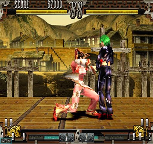 Image in-game du jeu Fighting Layer sur Zinc