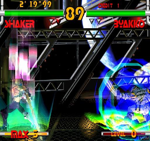 Image in-game du jeu Plasma Sword sur Zinc