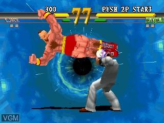 Image in-game du jeu Street Fighter EX 2 sur Zinc