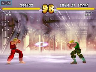 Image in-game du jeu Street Fighter EX 2 Plus sur Zinc