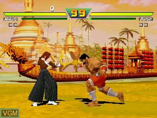 Image in-game du jeu Street Fighter EX Plus sur Zinc