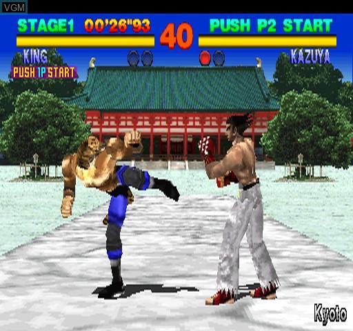 Image in-game du jeu Tekken sur Zinc