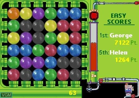Image de l'ecran titre du jeu Paintball sur Tapwave Zodiac