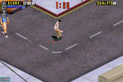 Image in-game du jeu Tony Hawk's Pro Skater 4 sur Tapwave Zodiac