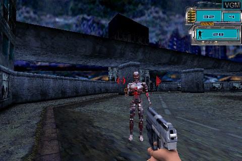 Image in-game du jeu Terminator 3 sur Tapwave Zodiac