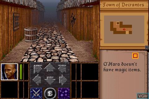 Image in-game du jeu Legacy sur Tapwave Zodiac