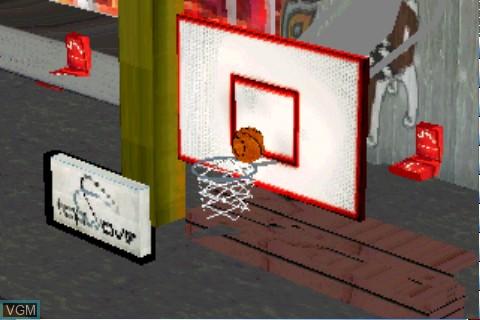 Image in-game du jeu Street Hoops sur Tapwave Zodiac